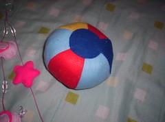 bola do Gustavo (Balaio de Gato2008) Tags: feltro moldes