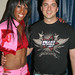 Britney Houston and Marc Felion, backstage at Pridefest Milwaukee, 2008