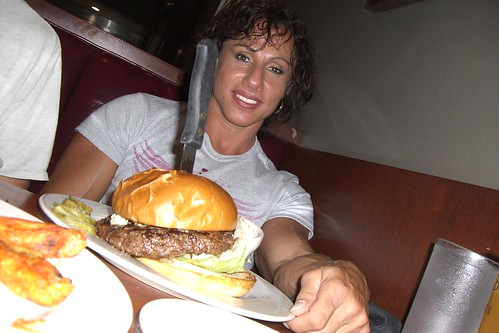 Annie Rivieccio's One Pound Burger At the NPC Junior Nationals