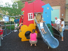 Play area at Hamilton Town Center