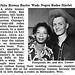 White Bronco Buster Robert Yunker Weds Negro Rodeo Starlet Eleanor Bohannon - Jet Magazine, August 7, 1952