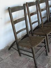 Cadira de 6 potes
