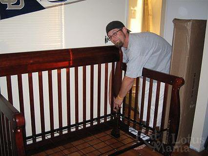 building the crib