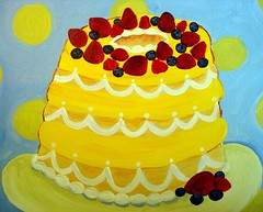Multi Layer Cake, in Acrylic