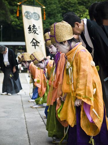 「綾傘鉾 稚児社参の儀」 #2