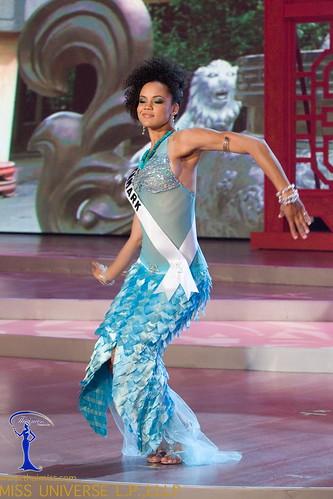 Traje de fantasía de Miss Dinamarca