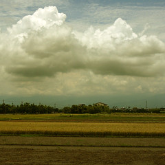 L1050659 (@) Tags: road blue sky cloud white house water clouds taiwan reflexions artcafe golddragon aplusphoto worldglobalaward globalworldawards