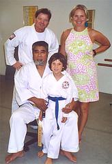 Kaicho, Augie, & Denise Crosby