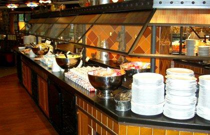 Frühstücksbuffet Hotel Sequoia Lodge