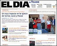 Portada de El Día de Toledo