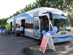 NABI 60-BRT Hybrid Bus