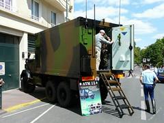 P1000917 (yoigoshi) Tags: cheval tank 2008 militaire onu arme 14juillet gendarmerie saintmand garderpublicaine fz18