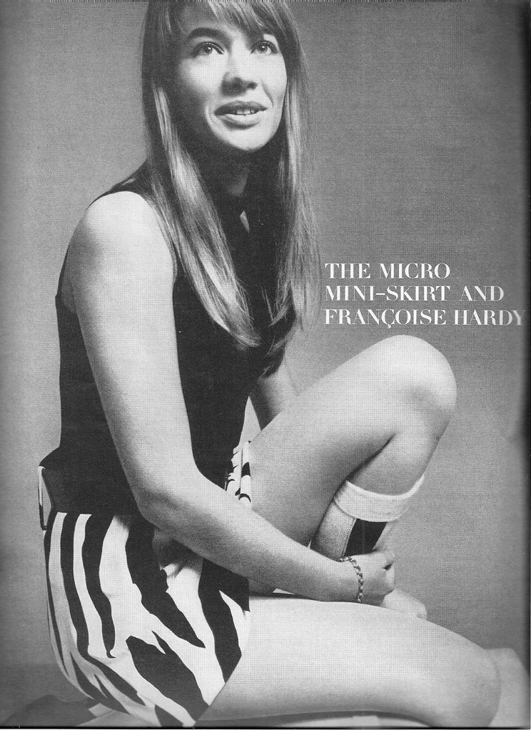 Françoise Hardy - US Vogue January 15, 1967