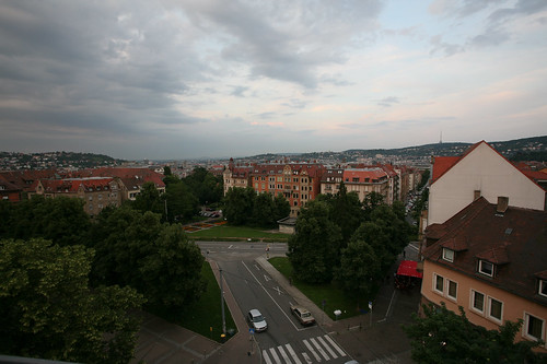 View from Bismarckstrasse