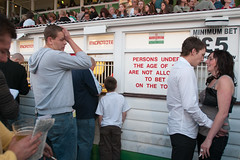 Walthamstow Dogs, 2008 (David Solomons) Tags: greyhound gambling london dogs racing entertainment betting bookmakers tote walthamstow ipt ip2 sfhd