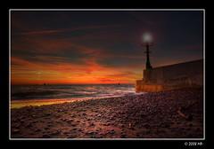 It's time to put into port (Mariusz Petelicki) Tags: sunset beach port balticsea hdr canonefs1022mm plaża 3xp zachódsłońca morzebałtyckie rowy canon400d aplusphoto mariuszpetelicki