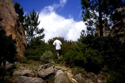 Giru di Ferriate 96 : Passage à Bocca Piana pour changer de versant
