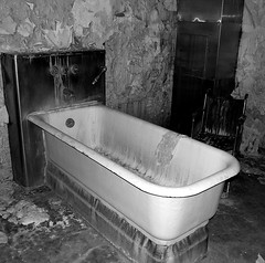 The Melting Bathroom in Unit 26 (Grendl) Tags: hospital bathroom melting state 26 paranormal camarillo asylum mental unit csh