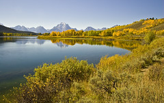 Oxbow Bend, Grand Teton National Park (geoffdhill) Tags: terrain holiday mountains water river us photographer places northamerica wyoming occasions grandtetonnationalpark oxbowbend geoffhill