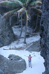 More sandy oasis at Niue