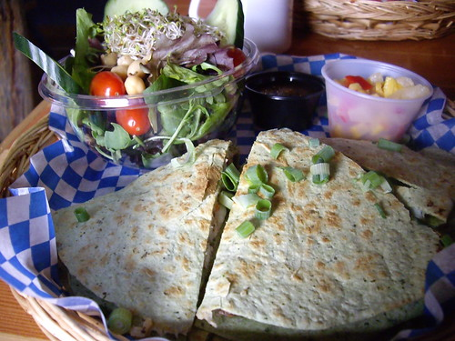 Buffalo Cafe - Jamaican Quesadilla