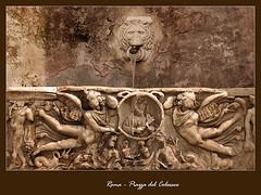 Roma - Fontana (skriszta) Tags: roma nikond50 fontana piazzadelcolosseo