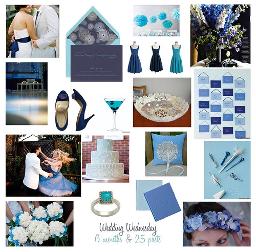 Navy or royal blue for wedding colors photo 193494-1