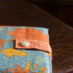 Orange & Turquise MacBook Sleeve