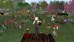 Grace McDunnough playing at the Inside Out Cafe 8-28-2008 (FelineHerdsCats) Tags: secondlife nevi insideoutcafe gracemcdunnough