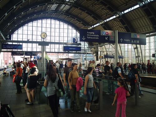 Estación tren Berlín