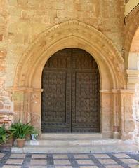 Portada gótica de la Iglesia de Santa María del Collado. Santisteban del Puerto (Jaén)