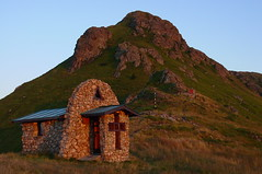 St. Trinity Chapel at Sunset (proxima2) Tags: mountains peak chapel bulgaria balkan    proxima2  yumruka