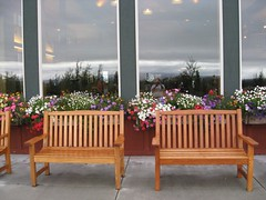 Benches (steinba) Tags: alaska copperriver