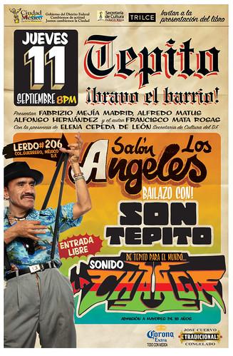 Invitación Tepito ¡bravo el barrio!