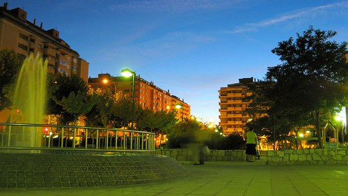 Parque nocturno / Park at Night
