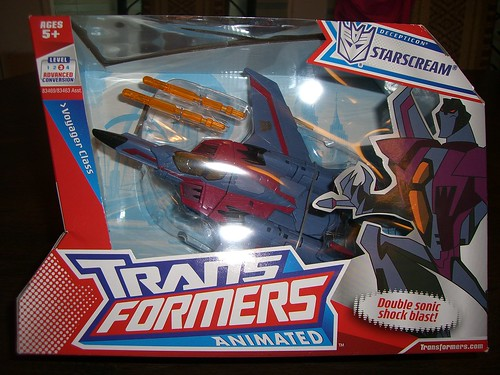 Transformers: Animated Starscream