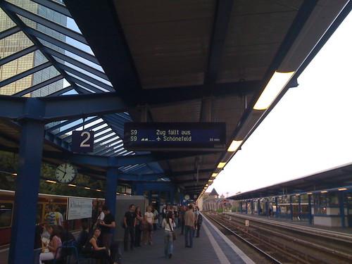 S-Bahn Berlin mit Verspätung