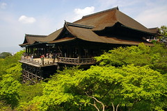 Kiyomizu-dera (SBA73) Tags: wood trees roof panorama verde green japan temple madera kyoto arboles view buddhist religion buddhism unesco arbres nippon kioto kansai  kiyomizudera balcn templo nihon fusta jap techo worldheritage verd japn budista humanidad patrimonio patrimoni balc religi sostre humanitat aplusphoto colourartaward