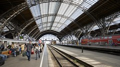 central railway station of Leipzig (sualk61) Tags: saxony leipzig hauptbahnhof sachsen canon5d canonef1740mmf4lusm mainstation centralstation 17mm centralrailwaystation eos5d sualk61