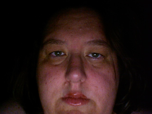 1027 p.m. Wed, Sept 17 - How I look right now.