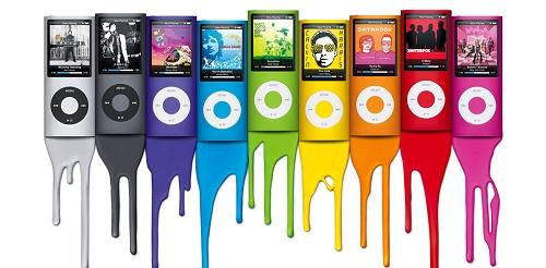 iPod Nano 4 缤纷炫彩