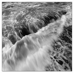 wavescape I | La Jolla (ART SRISAK | PHOTOGRAPHY) Tags: california bw abstract mamiya film mediumformat square bay squares lajolla colorless waterscape monart autaut rb67pros filmforward