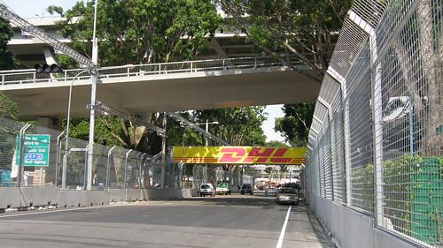 10.著名的Raffles Boulevard!
