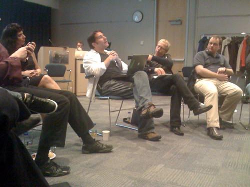 A session at BarCampBankBC