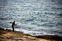 Contra el Gran Azul (Leandro MA) Tags: pesca moraira leandroma