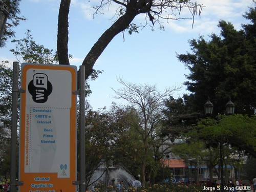 Wi Fi en la Plaza Libertad