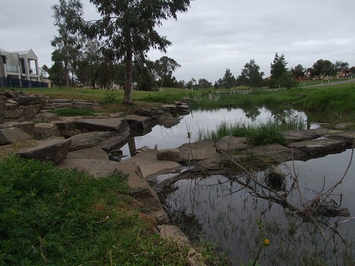 Photo of mine from Flickr of the Mawson Lakes river