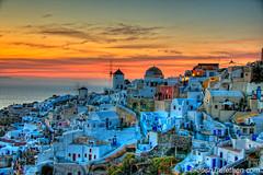 Summer Lovers II :: Oa, Santorini, Greece (JoshTrefethen.com) Tags: aplusphoto lightiq