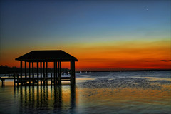 The Boathouse (Saildog Photography) Tags: blue sunset red sky st river florida jacksonville fl jax johns stjohnsriver northflorida atlanticcoast bluestblue passionphotography ysplix northeastflorida saildog skyasacanvas damniwishidtakenthat mirrorser