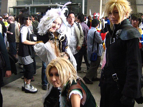 Cloud (FF7), Zidane (FF9) and Kuga (FF9)